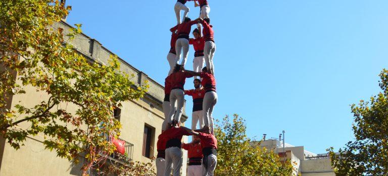 4 de 9 amb folre by Castellers de Barcelona, 8-10-2017