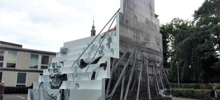 Sculpture, by Peles Empire; artwork for Skulptur Projekte Münster 2017