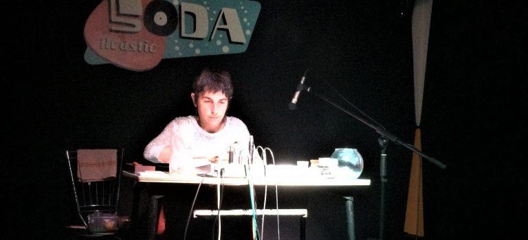 Lali Barrière al LEM, Soda Acústic, Barcelona, 22-10-2015