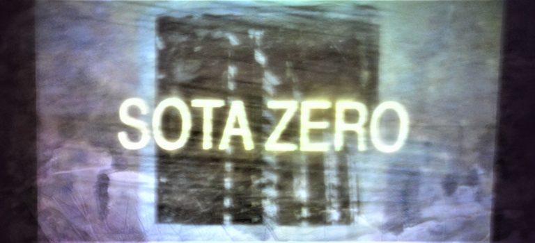 Sota Zero, by Efrén Razkin & Elara Elvira , Nau central Fàbrica Anònima, Manresa, 17-2-2018