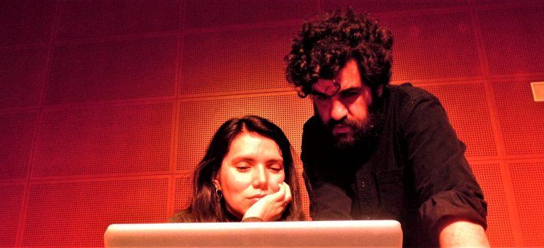 Marcel.lí Bayer, Alexandra Garzón, at Albareda, Barcelona, 6-3-2018, BCN ImproFest