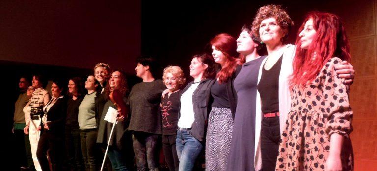 Amazones at Albareda, Barcelona, 9-3-2018; BCN ImproFest 2018