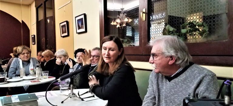 Vespertina # 7 amb Susanna Rafart al Caffè San Marco 18-10-2018.