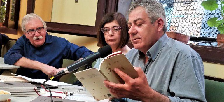 Vespertina#13 amb Roger Costa-Pau i Montserrat Garcia Ribas, al Caffè San Marco, 6-6-2019.