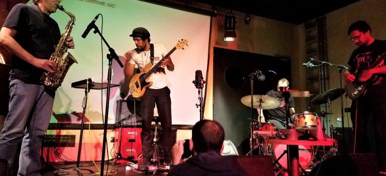 Maasl Maier, Diego Caicedo,  Agustí Martinez & Avelino Saavedra, Barcelona, 27/10/2019.
