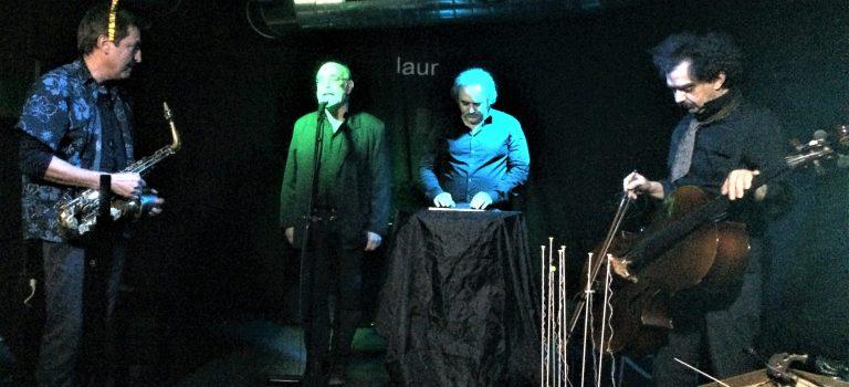 Dadá's Quartet at Sinestesia, Barcelona, 12-01-2018