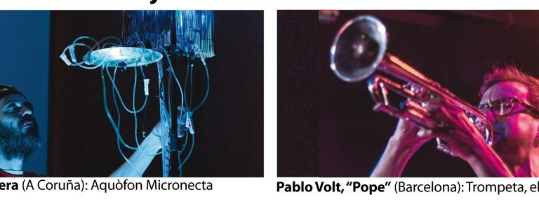 "Patxi Valera & Pablo Volt ""Pope"", at LEM FESTIVAL, Barcelona, 11-02-2016"