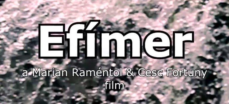 «Efímer» by Marian Raméntol & Cesc Fortuny, Presentation at Antic Teatre Barcelona, 20-02-2018.