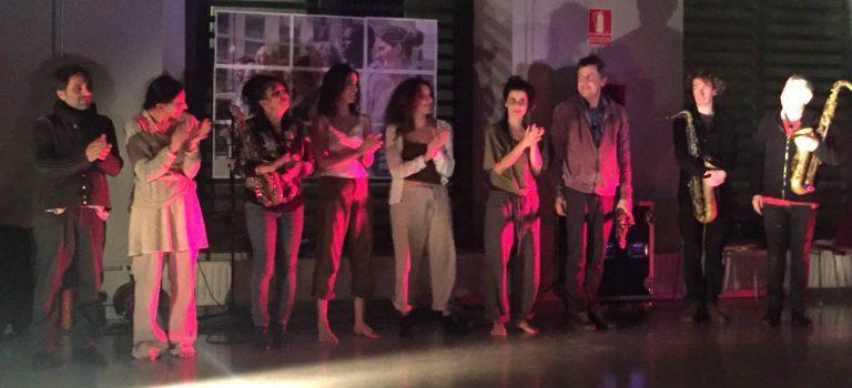 Deria Rectificadora Colectivo + All Stars, al El Pou de la Figuera, Barcelona, 2-3-2018, BCN ImproFest 2018
