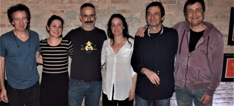 Societat Alaka & Friends, at TheYesPlace, Barcelona, 10-3-2018 BCN ImproFest2018 closing act