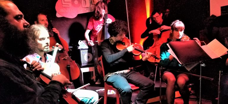 Discordian String Ensemble, Nocturna Discordia #191 at Soda Acústic, 5-12-2018