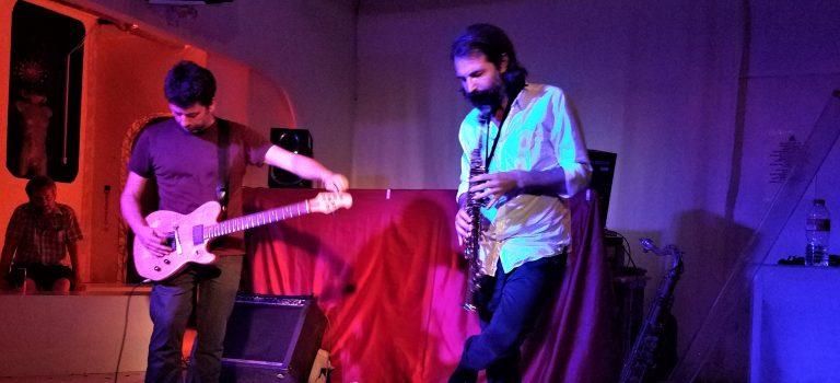 Ferràn Fages & Tom Chant  at Màgia Roja, Barcelona, 7-9-2019.