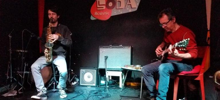 Nuno Rebelo & El Pricto at Soda Acústic, Barcelona, 6/3/2019. Nocturna Discordia #201.