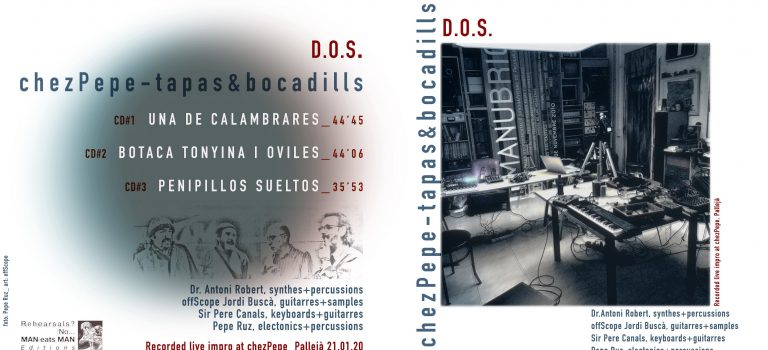 """NEW RELEASE! """"Chez Pepe – tapas & bocadills"""" by D.O.S."""
